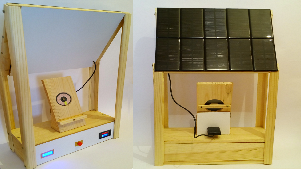 Mini solar power station